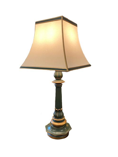 Green Asian Table Lamp