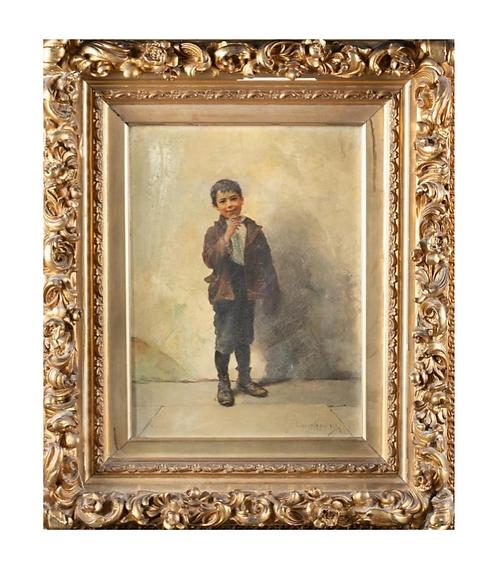 Henrici, John H Oil on Canvas