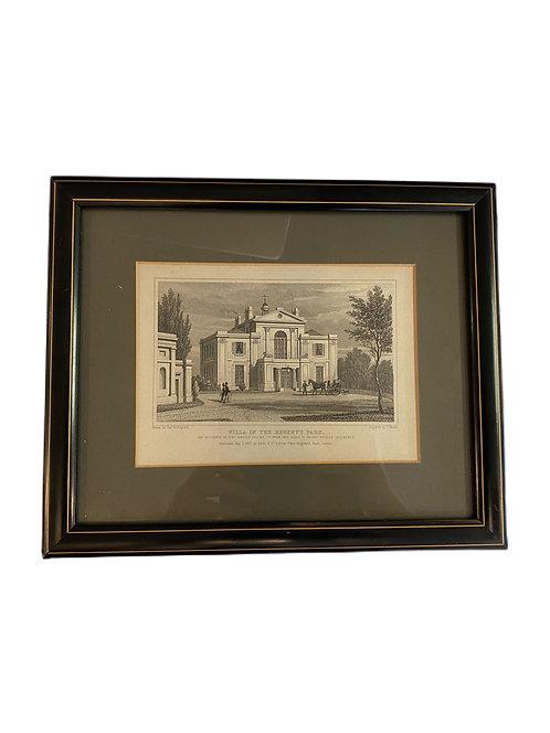 Shepard Pub. 1830 Pair of Steel Engravings