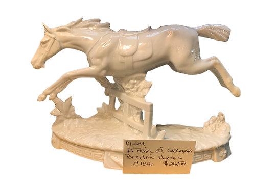 German Porcelain Horse