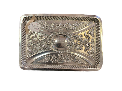 Sterling Silver English Tray
