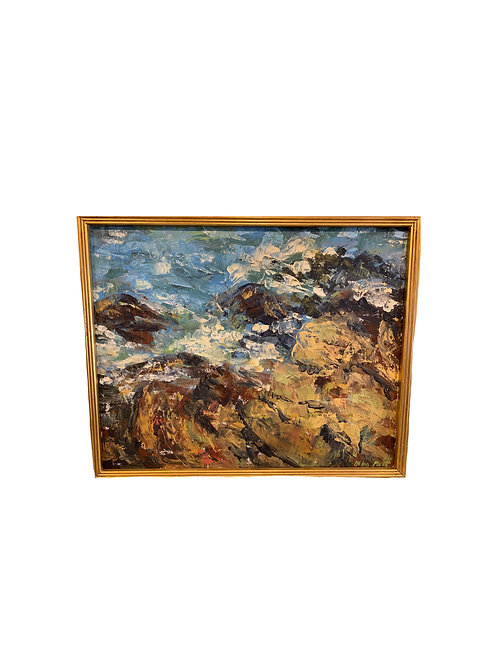 Rocky Shores Oil on Canvas