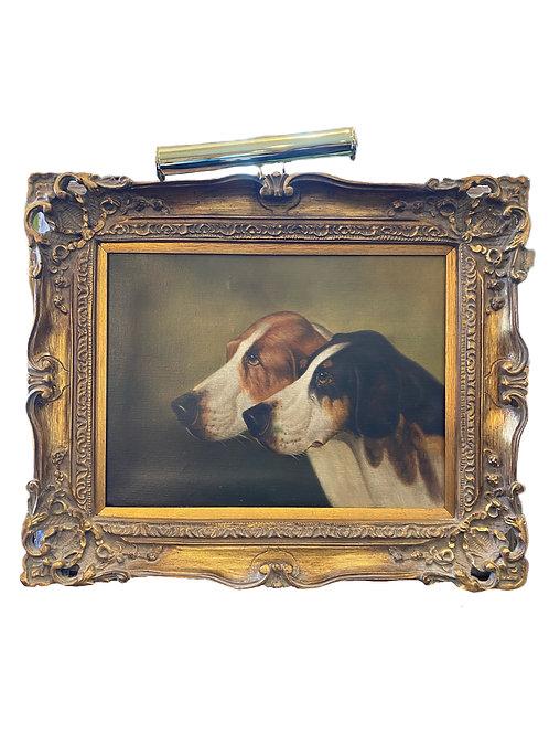 Hound Painting