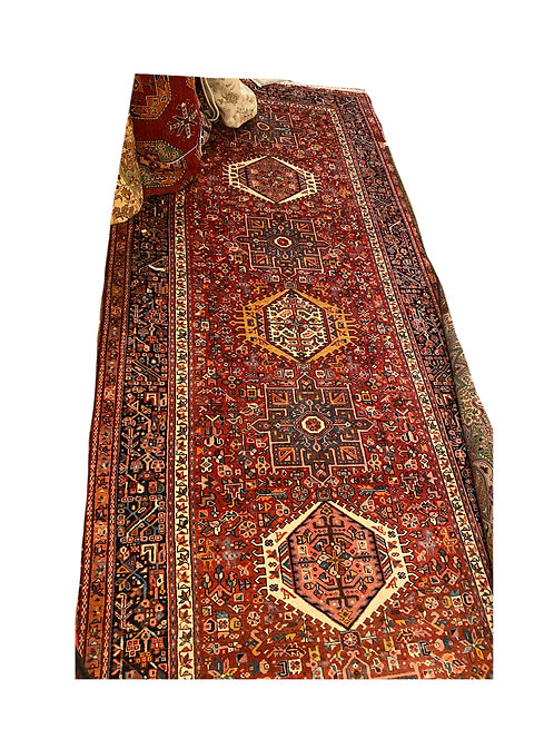 Antique Persian Kerajeh Rug
