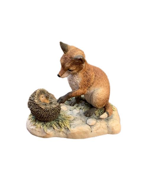 Fox & Porcupine