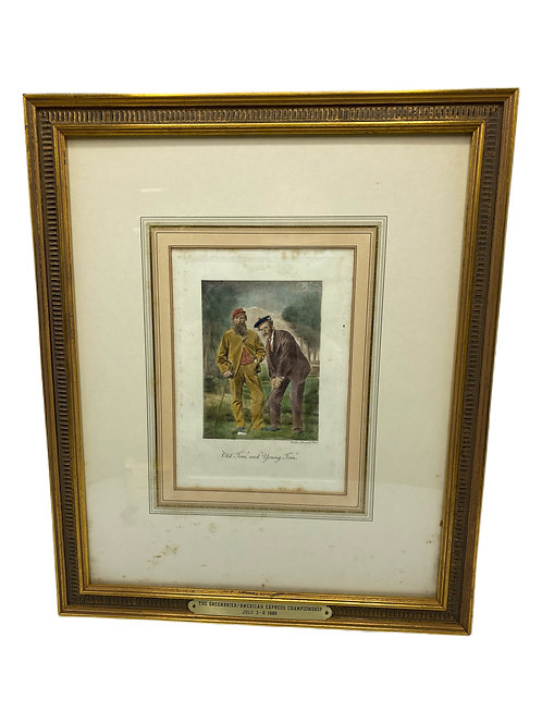 Greenbriar Print with Plaque