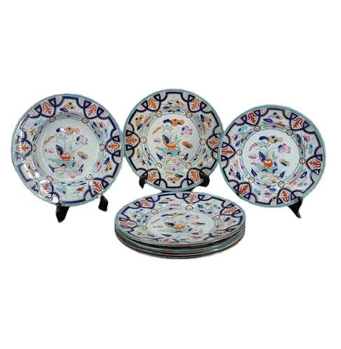 7 Chinese Export Imari Plates