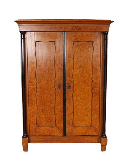 Antique Painted Biedermeier Armoire or Cupboard