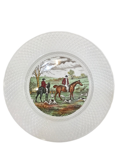 Herring Hunt Plates Set of 12