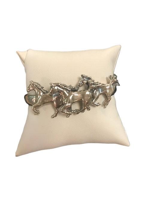 Sterling Equestrian Bracelet
