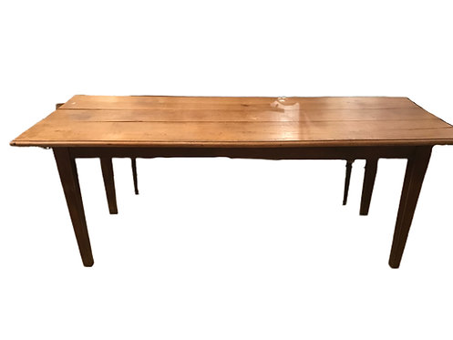 Early Pear Wood Farm Table