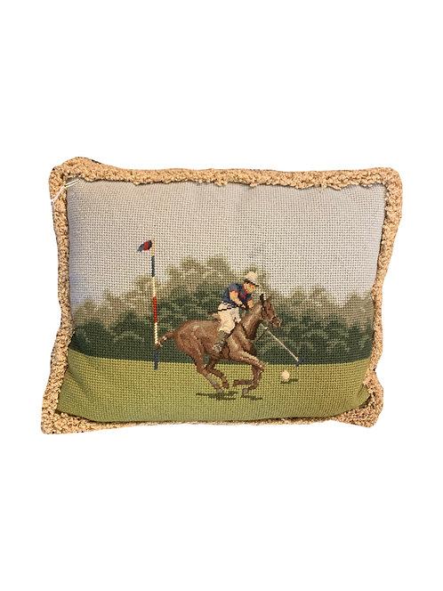 Pair of Vintage Polo Pillows