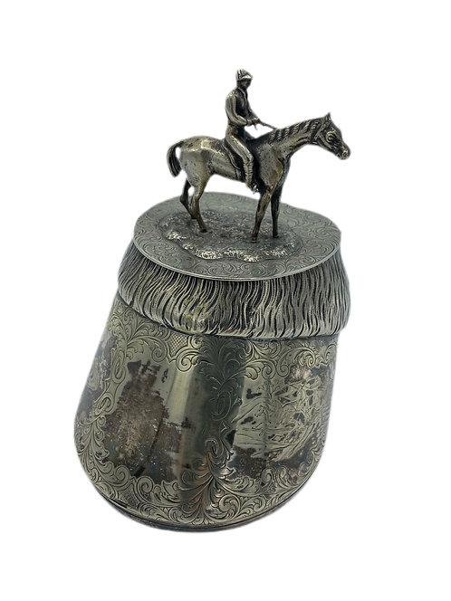 Sterling Silver Horse Shoe Holder