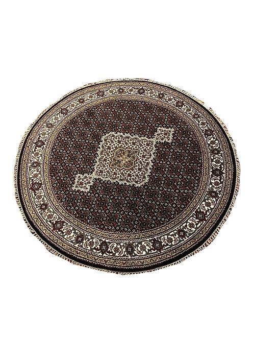 Indo Tabriz with Silk & Wool