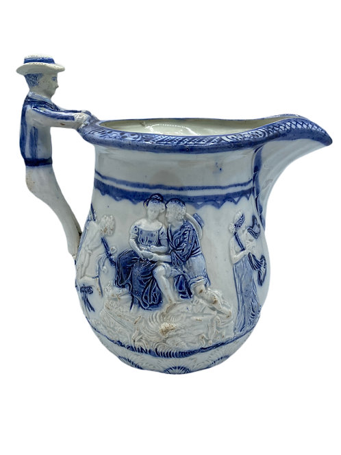 Sailor Handle Pitcher England 1820's