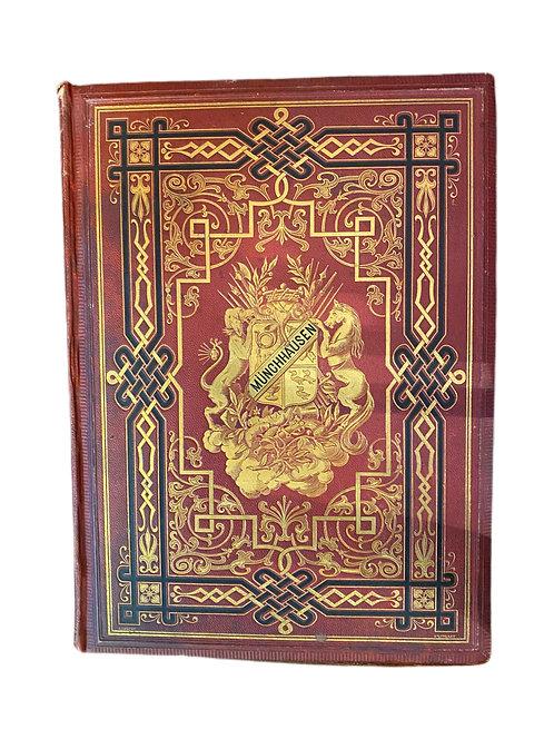 "Book ""Munchhausen"" Illustrations by Gustav Dore 1800's"