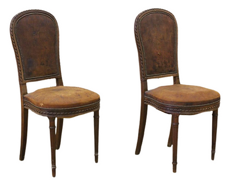 French Louis XVI style Side Chairs