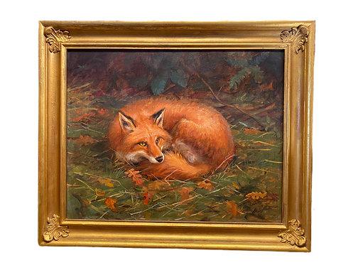 Anthony Barham Oil 2004 Fox
