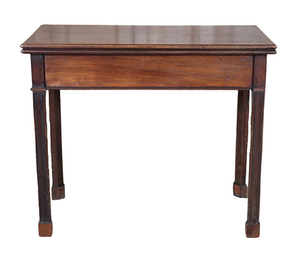 English George III Style Games Table
