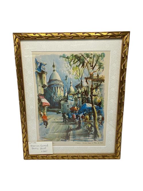 Marius Girand Paris Print