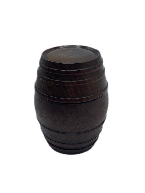 Barrel Box of Rare Dominican Mohogany