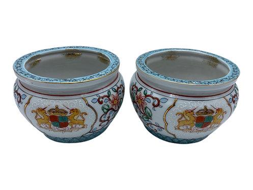 Pair of Cache Pots