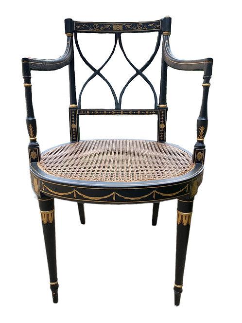 Black & Gold Chair