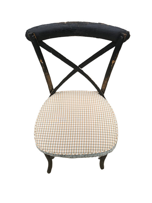 Set of 6 Dining Ratan Chairs with Cushions
