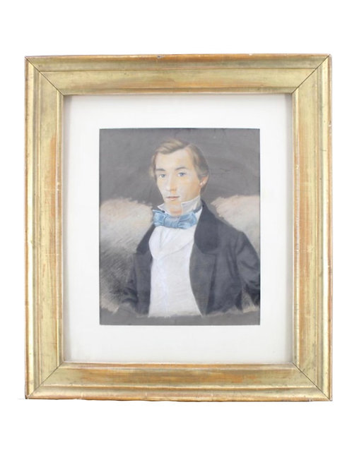 Framed Pastel of Louis B. Williams