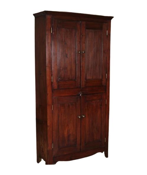 American Country Four Door Cupboard