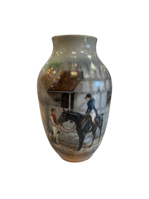Foxhunting Vase