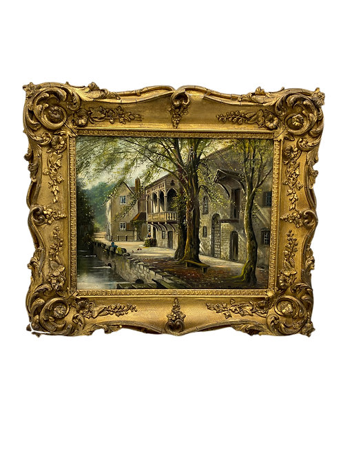 19th century British Oil Painting