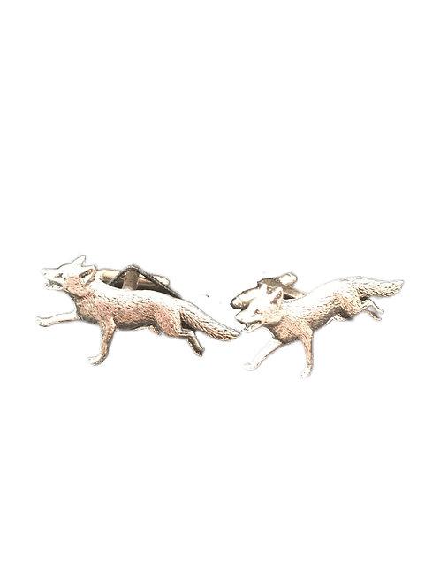 Fox Cuff Links
