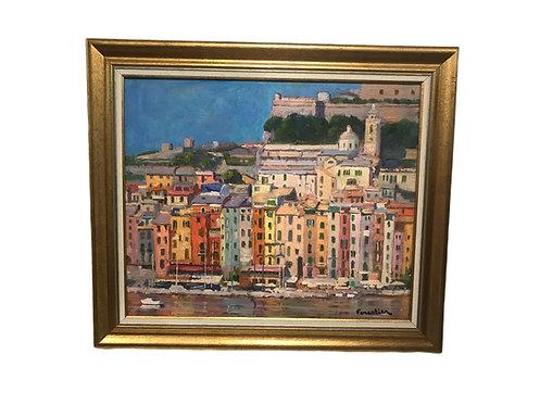 Porto Venere, Cinque Terre Oil on Canvas