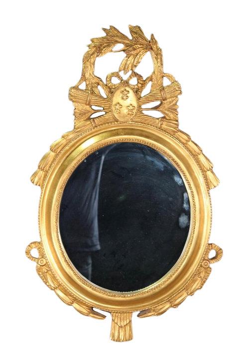 Carver's Guild Regency Style Mirror