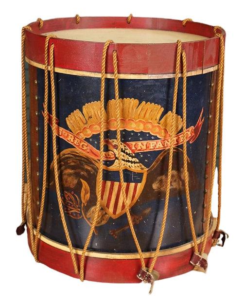 5th Regiment US Infantry Civil War Style Drum
