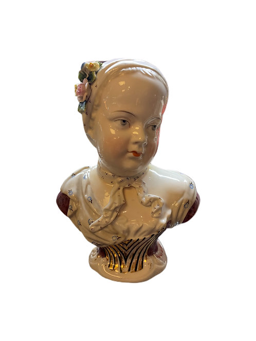 Handpainted Childs Bust