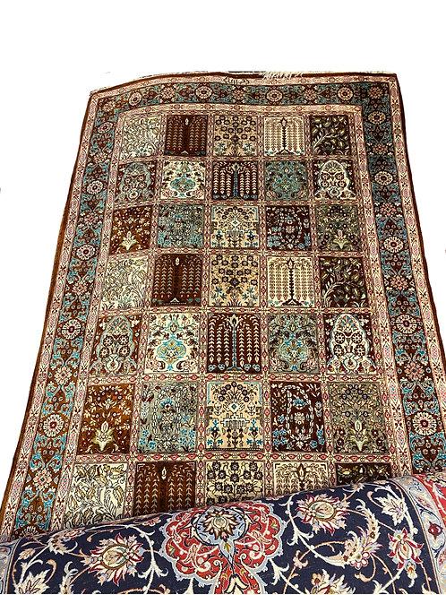 100% Persian Silk Qum with Signature
