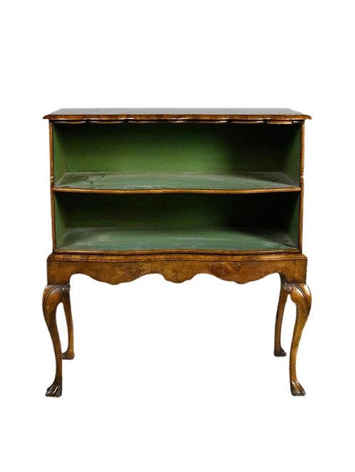 Baroque Style Burlwood Chest Lacking Drawers