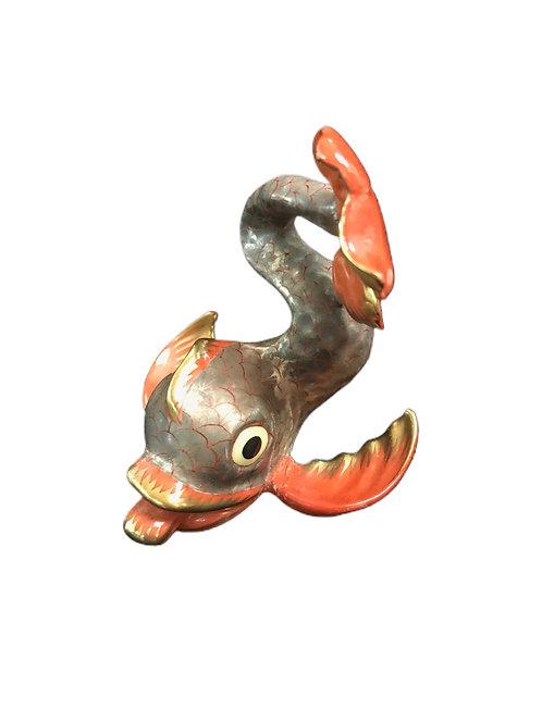 Herend Koi Fish Figurine