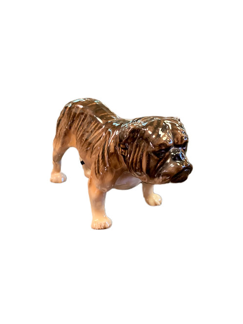 Bulldog Figurine by Royal Doulton Signed