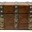 Thumbnail: Victorian Oak and Brass Sewing Box
