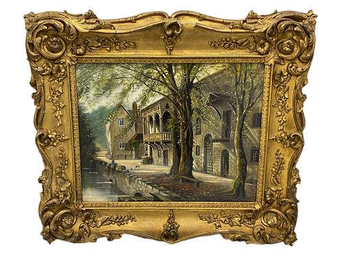 19th century British Oil by G. Willis Pryce