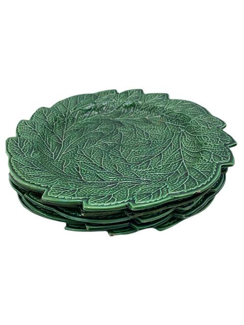 English Green Creamware by Rockingham