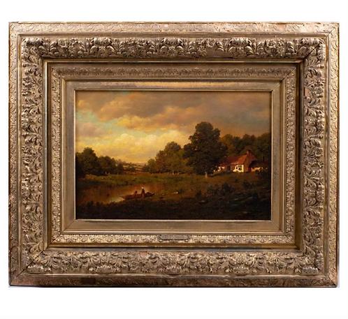 Henry Pember Smith River Landscape