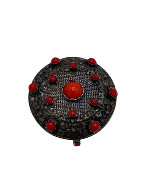Pill Box with Stones