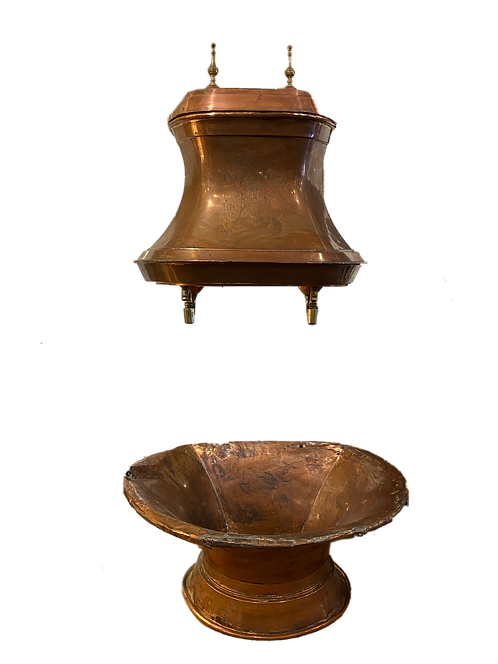 Antique French Copper Fountain