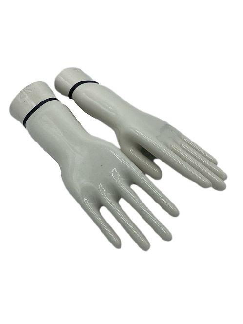 Porcelain Glove Display