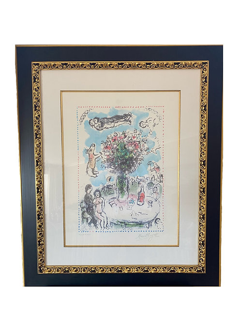 Rare Marc Chagall Painting