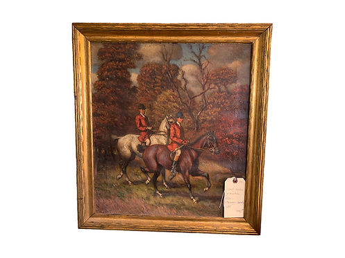 Hunt Scene Painting